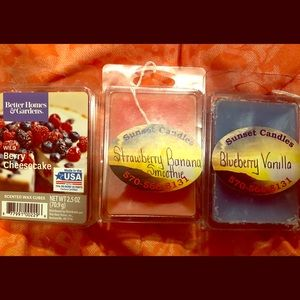 Tart warmers! Selling as a lot! Never used!